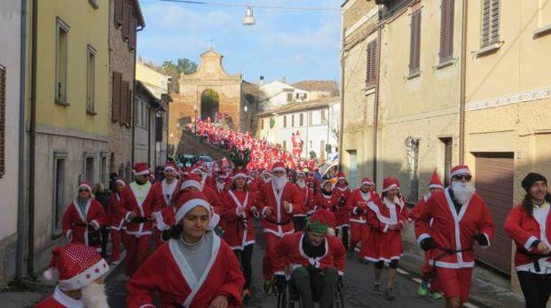 I Babbi Natale di corsa