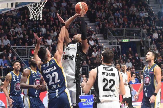 Un momento della partita (Foto Schicchi)