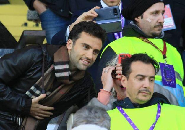 Fiorentina-Genoa. Pepito Rossi in tribuna  (Germogli)