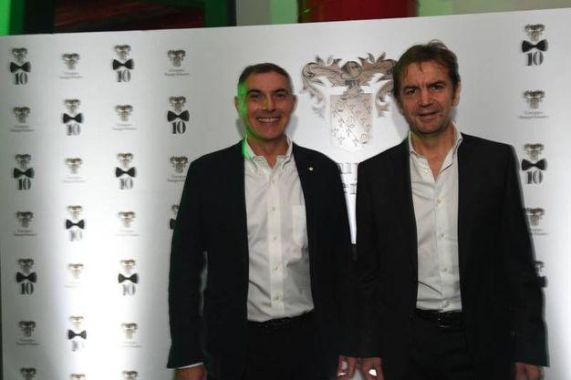 Giuseppe Cuomo e Paolo Castellani  (Foto Schicchi)