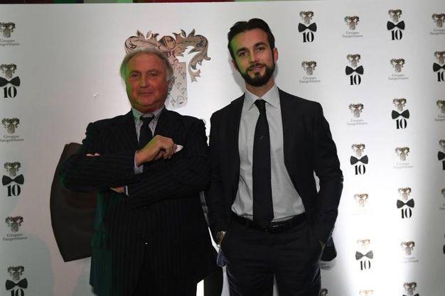 Tonino e Ferruccio Lamborghini (Foto Schicchi)