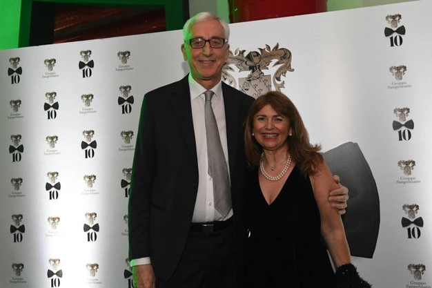 Stefano e Daniela Campogrande (Foto Schicchi)