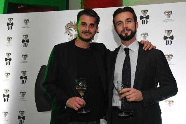 Luigi Sangermano e Ferruccio Lamborghini (Foto Schicchi)