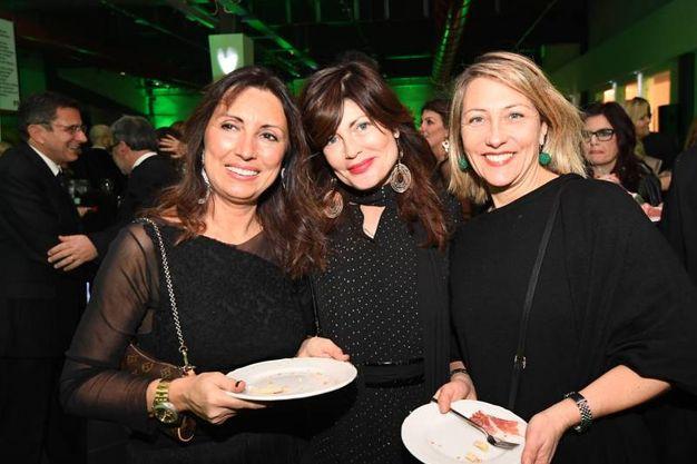 Manuela Pierantoni Nicoletta Zacchiroli e Barbara Falcioni (Foto Schicchi)