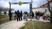 La '100 km dei campioni' a Tavullia