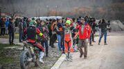 La conclusione della '100 km dei campioni' al Motor Ranch di Tavullia