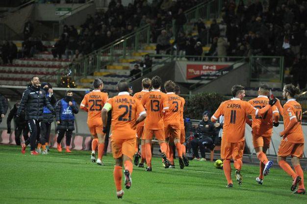 Pistoiese-Gavorrano 3-1, le foto della partita (Acerboni/Foto Castellani)