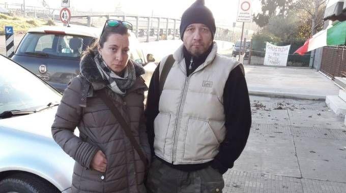 Emanuele e Francesca Verri, figli di una delle vittime di Norbert Feher, alias Igor