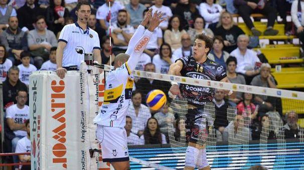 L'Azimut ha sconfitto Perugia 3-0 (Foto Michele Benda)