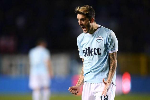 Atalanta-Lazio 3-3, Luis Alberto (Afp)