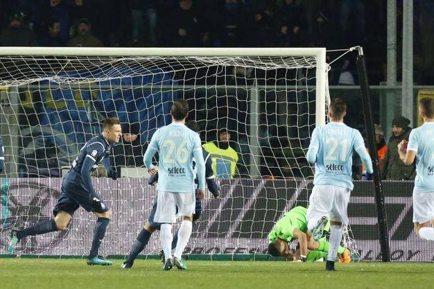 Atalanta-Lazio 3-2, Ilicic (LaPresse)