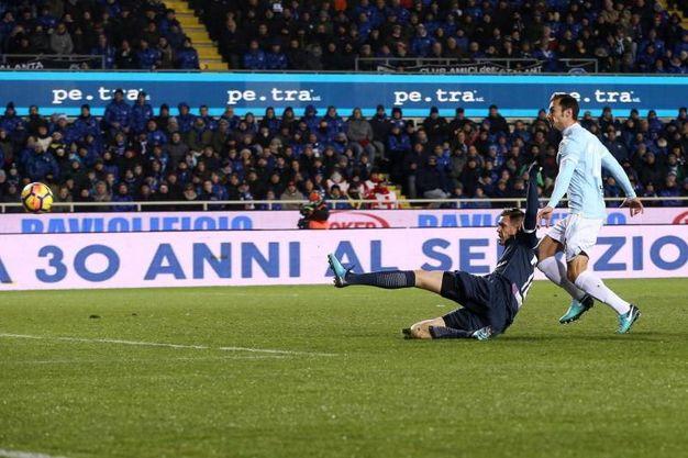 Atalanta-Lazio 2-0, Ilicic (Ansa)