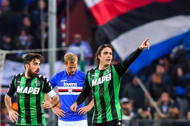 Sampdoria-Sassuolo 0-1, Matri (Ansa)