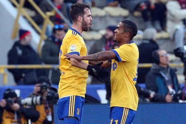 Bologna-Juventus 0-1, Pjanic (Ansa)