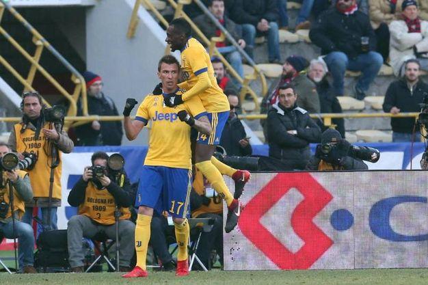 Bologna-Juventus 0-2, Mandzukic, (Ansa)