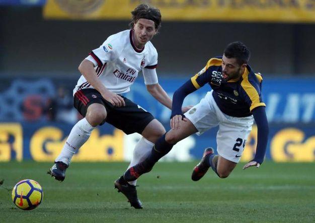 Verona-Milan 3-0, Bessa (Ansa)