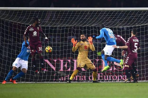 Torino-Napoli 0-1, Koulibaly (Afp)
