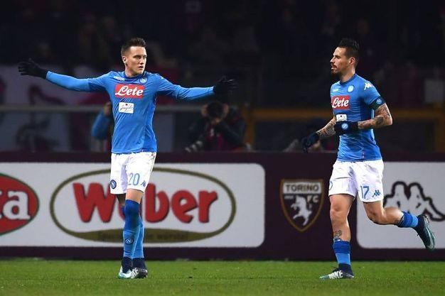 Torino-Napoli 0-2, Zielinski, (Afp)