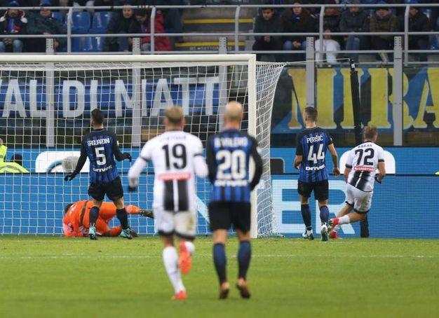 Inter-Udinese 1-3, Barak (Newpress)