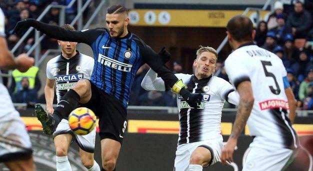 Inter-Udinese 1-1, Icardi (Ansa)