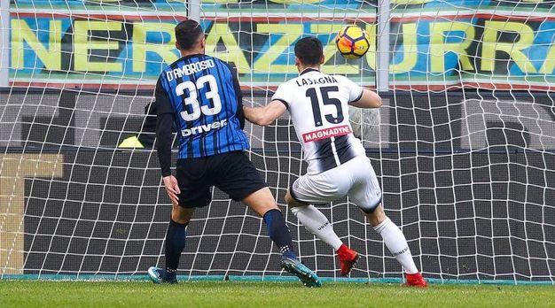Inter-Udinese 0-1, Lasagna (Ansa)