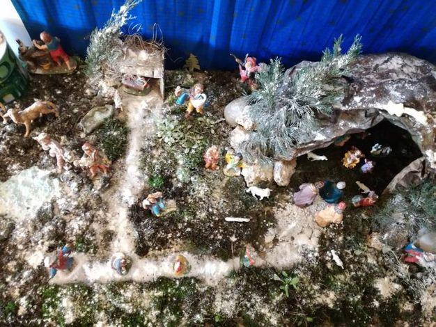 Il presepe dei bambini della 3a catechismo, parrocchia dei Bassi, Firenze