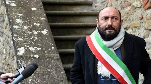 Il sindaco di Predappio Giorgio Frassineti
