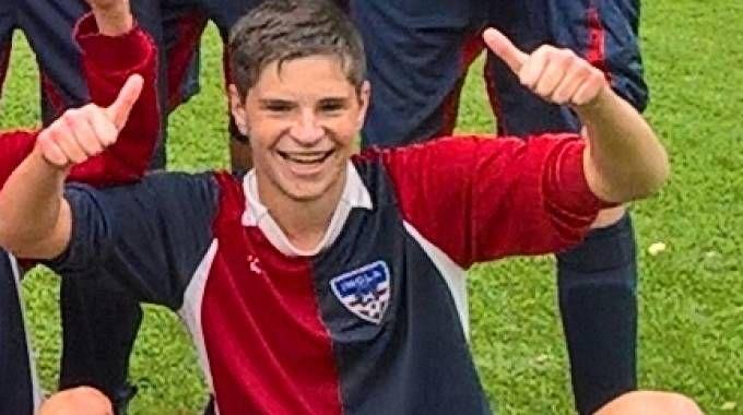 Giacomo Chelli, imolese, 15 anni, giocava a calcio nella Sanpaimola