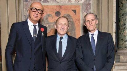 Marco Bizzarri, Francois Henri Pinault e Christian Masset