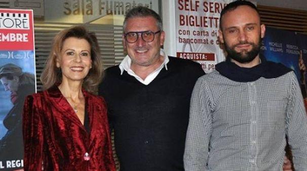 Ciro Formisano e Daniela Poggi con Massimiliano Giometti (Foto Concolino)