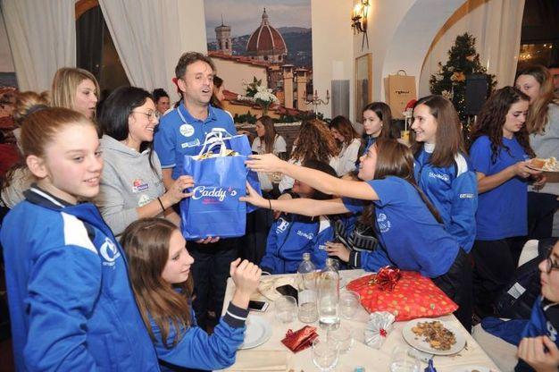 La festa del Blu Volley Quarrata (foto Acerboni/Fotocastellani)