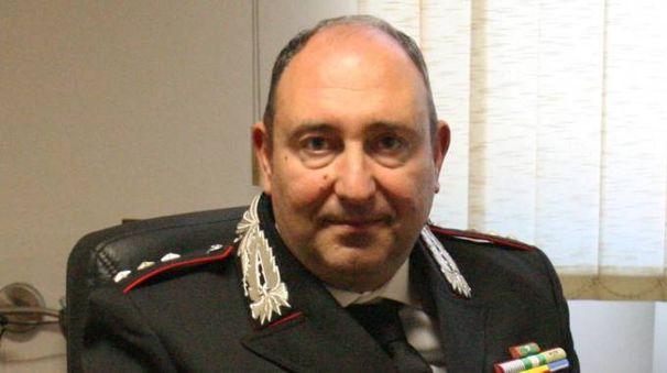 Michele Cataneo, comandante della compagnia carabinieri di Pontedera