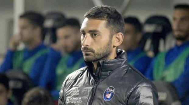 L'allenatore del Pisa Pazienza