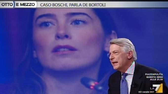 Ferruccio De Bortoli ospite su La7 sul caso Boschi (Ansa)