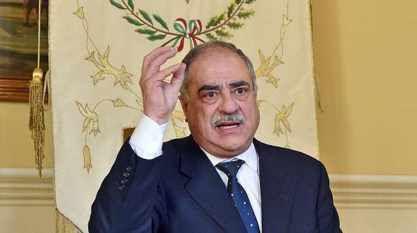 Il sindaco Mario Landriscina (Cusa)