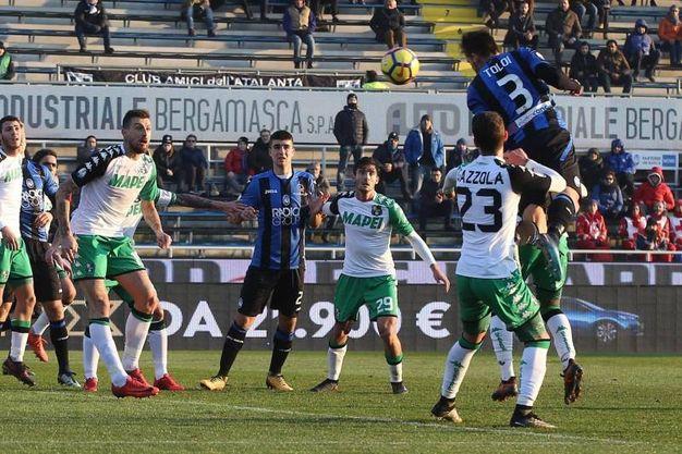Coppa Italia, Sassuolo eliminato dall'Atalanta (foto Ansa)