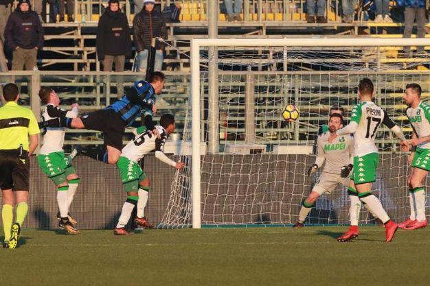 Coppa Italia, Atalanta - Sassuolo: la partita è finita 2-1 (foto Ansa)
