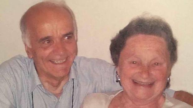 Il dottor Negrini e la moglie