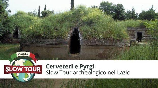 Museo Archeologico Nazionale e necropoli della Banditaccia di Cerveteri, Area archeologica