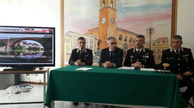 Presentata in conferenza stampa la maxi operazione antidroga