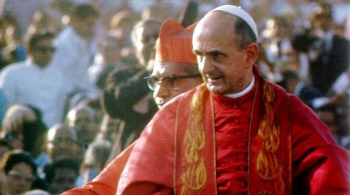 Papa Paolo VI in una foto d'archivio (Ansa)