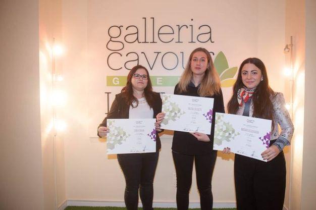 Erica Furlan, Valeria Colosetti e Margarita Kolouharova di CoFuKo, seconde classificate (fcoto Schicchi)