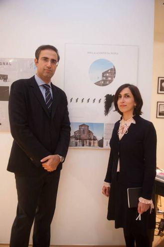 Solmaz Sadeghi e Ali Tavakoli Dinani, i primi classificati (foto Schicchi)