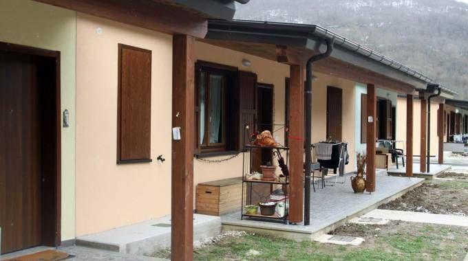 Terremoto, problemi alle casette per i terremotati (Labolognese)