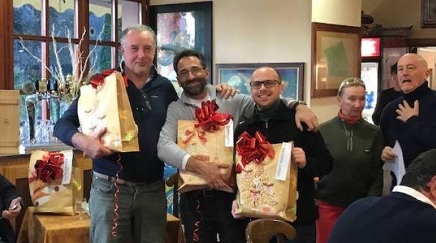 Da sinistra: Cristiano Galiberti, Riccardo Ceccotti e Attilio Marino
