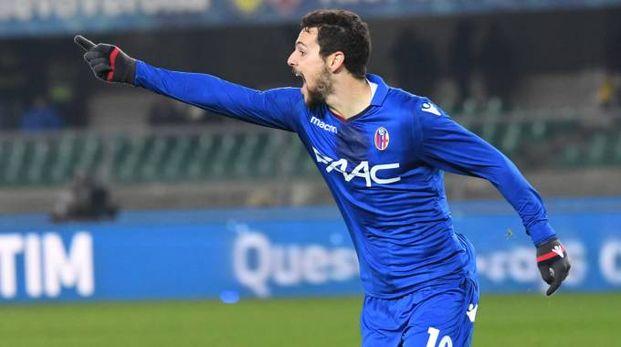 Chievo-Bologna 2-3, Destro protagonista assoluto con una doppietta (FotoSchicchi)