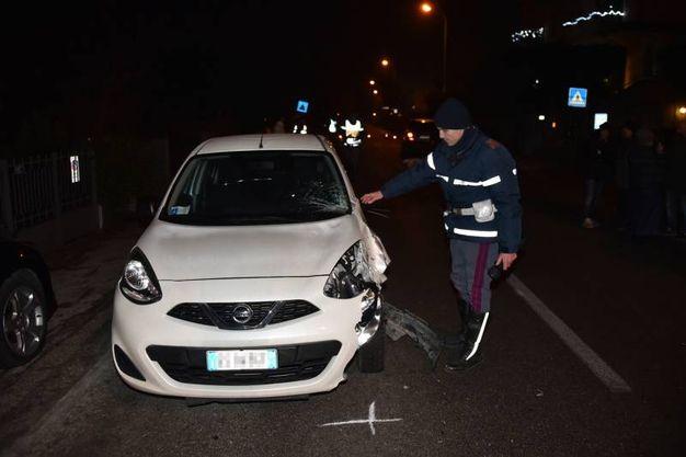 L'ex senatore Stelio De Carolis è morto venerdì alle 18, investito da un'automobile  (Foto Fantini)