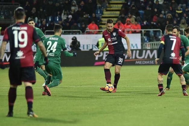 Cagliari-Fiorentina, le foto della partita (LaPresse)