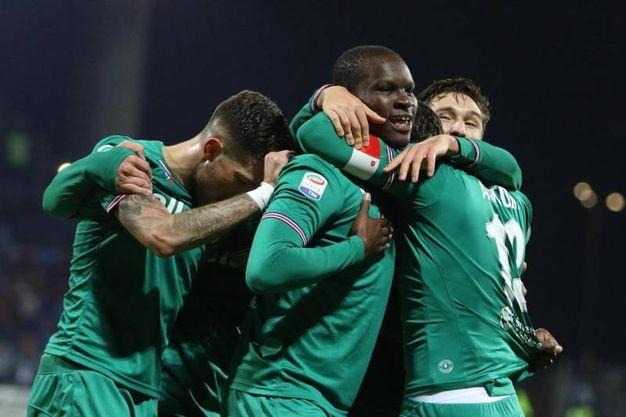 Cagliari-Fiorentina, le foto della partita (Ansa)