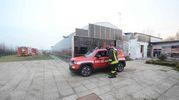 Due incendi sono scoppiati ieri, uno a Bagnolo di Po ed uno a Ceneselli (Foto Donzelli)